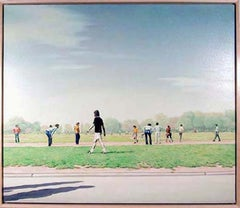 Soccer Players in Central Park