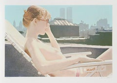 Roof-top Sunbather from the City Scapes Portfolio