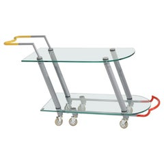 Hilton Trolly Bar cart by Javier Mariscal for Memphis, 1981