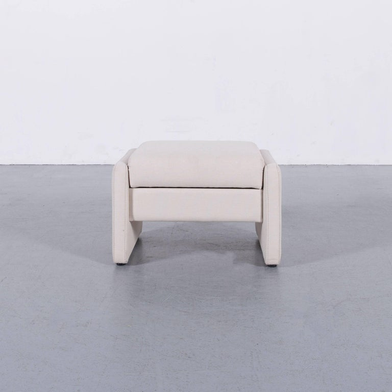 Himolla Fabric Foot-Stool Off-White Bench 1