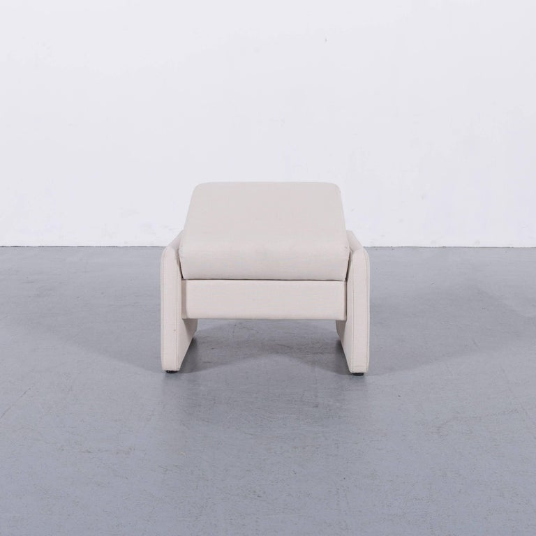 Himolla Fabric Foot-Stool Off-White Bench 2