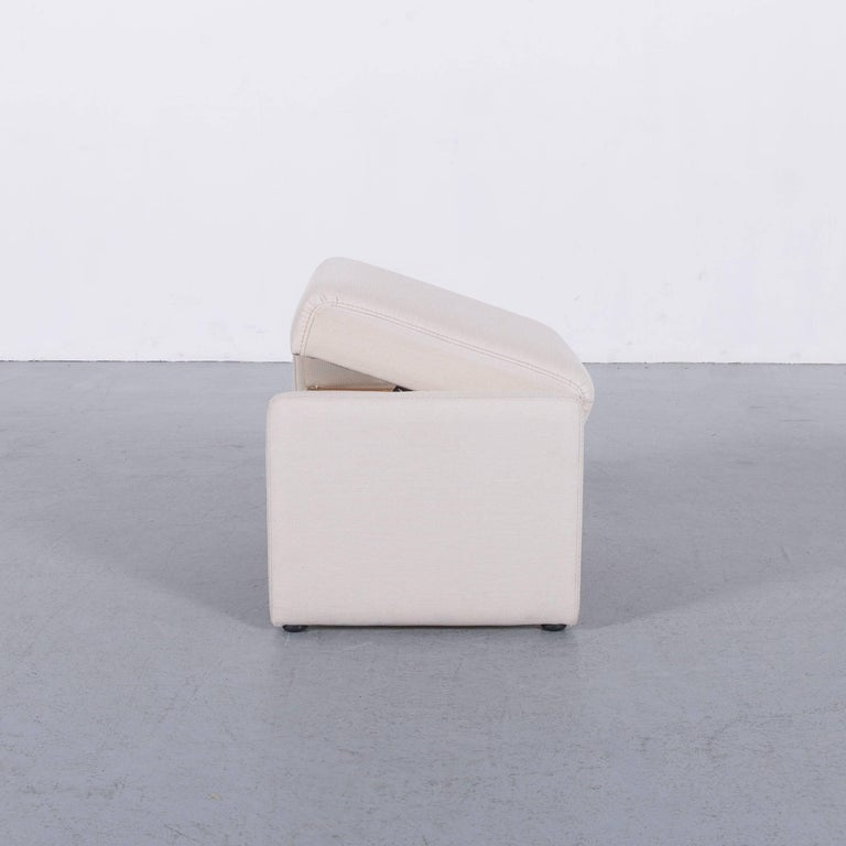 Himolla Fabric Foot-Stool Off-White Bench 3