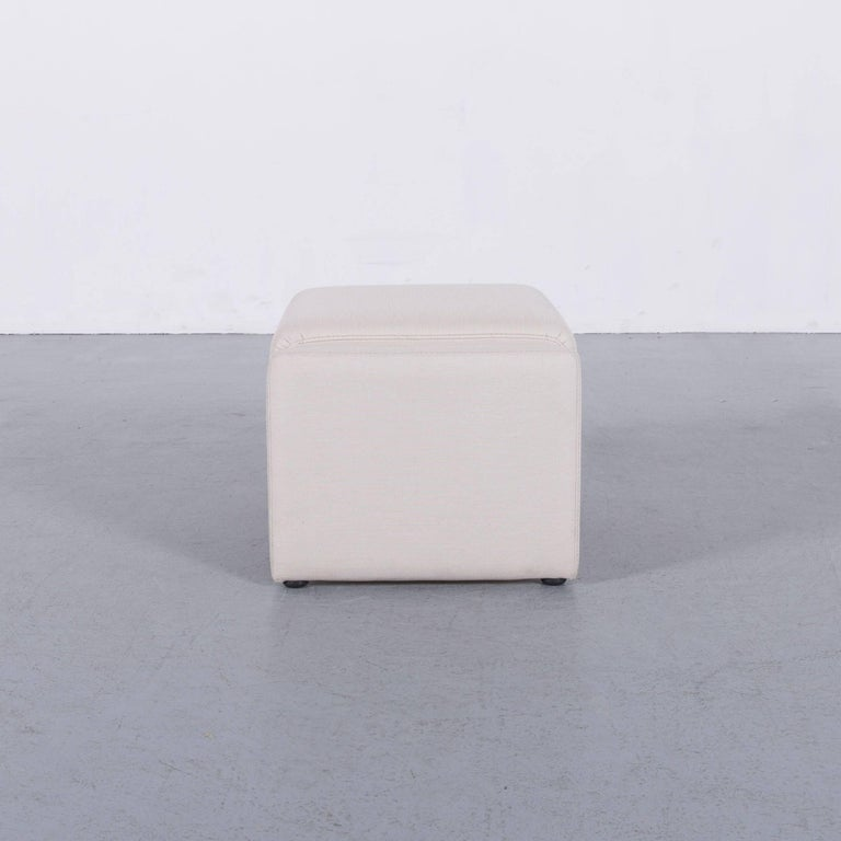 Himolla Fabric Foot-Stool Off-White Bench 4