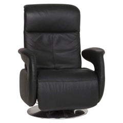 Himolla Leather Armchair Dark Green Incl. Function