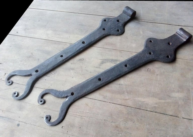 French Provincial Hinges for Windows Doors, France, 18th Century For Sale