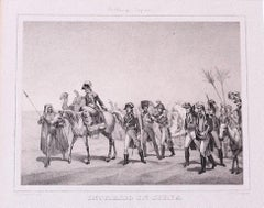 Napoléon - Original Lithograph by Hippolyte Bellangé - 1846