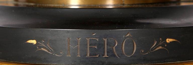 Hero, Art Nouveau Bronze Sculpture by Moreau For Sale 7