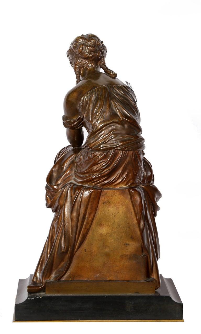 Hero, Art Nouveau Bronze Sculpture by Moreau For Sale 3