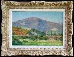 Donzy-le-Perthuis - Burgundy - Post Impressionist Oil, Landscape - H Petitjean