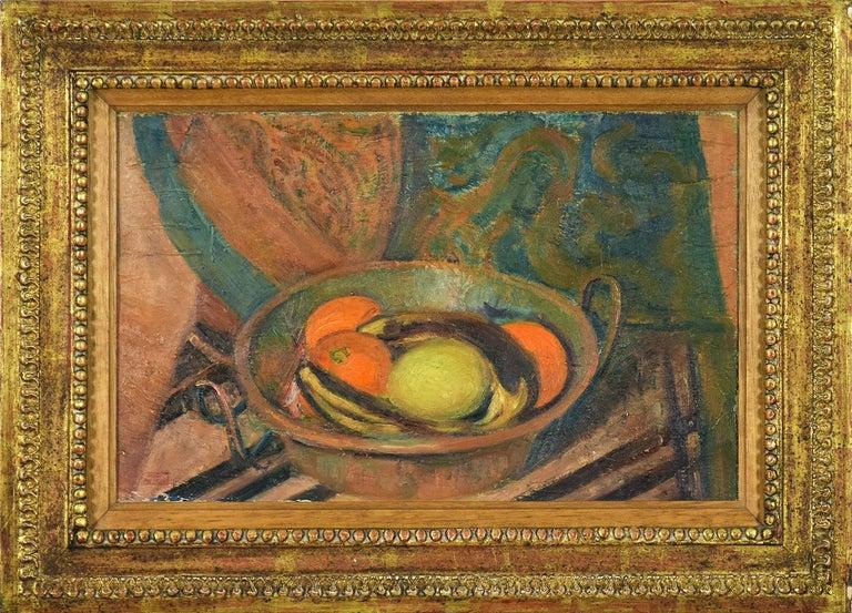 Hippolyte Petitjean Still-Life Painting - Nature Morte aux Fruits, HIPPOLYTE PETITJEAN - Post-Impressionist, Still Life