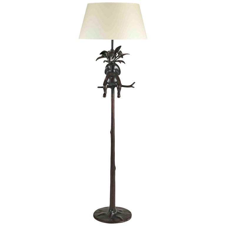 """Hippolyte the Rabbit"" Floor Lamp, Hubert le Gall, Limited Edition For Sale"