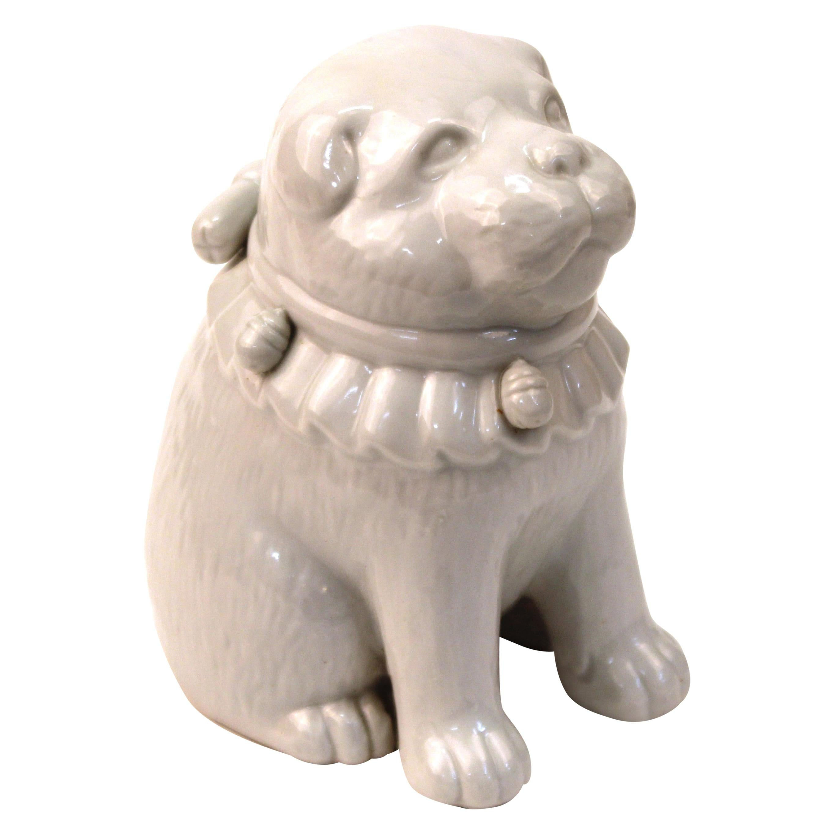 Hirado Japanese Porcelain Puppy Dog