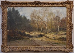 Landscape Painting signed by Hiram Reynolds Bloomer