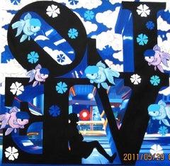 blu love & black