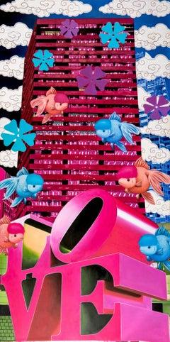 love nishikigoi pink