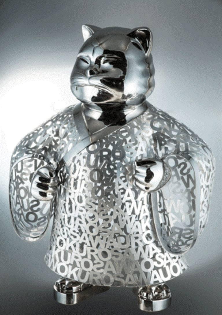 "HIRO ANDO Abstract Sculpture -  ""BUSHI"" Original sculpture"