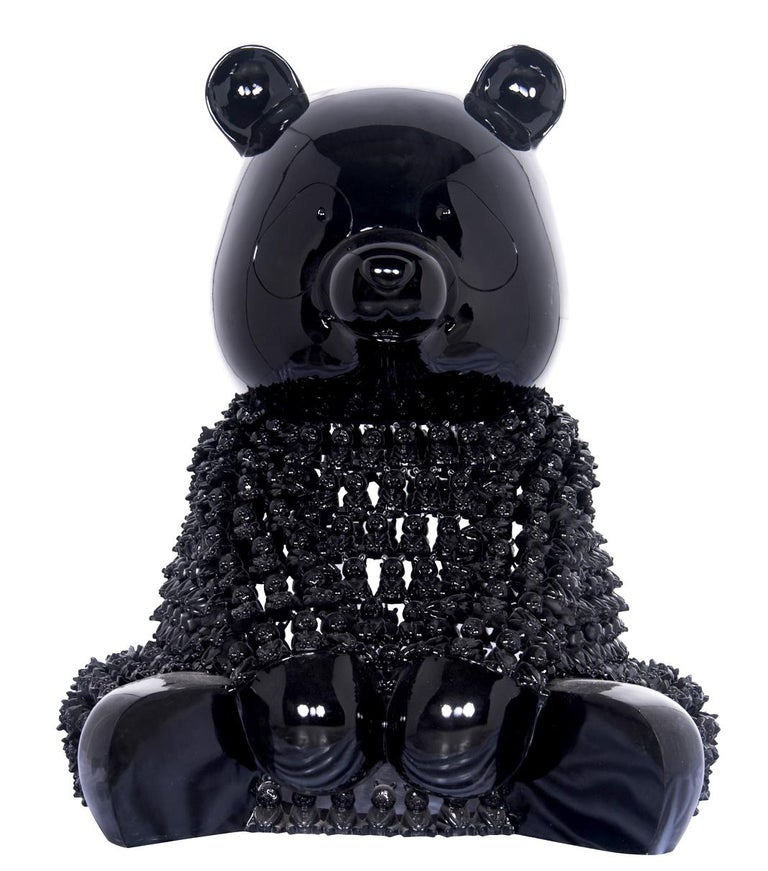 pandasons - Sculpture by HIRO ANDO
