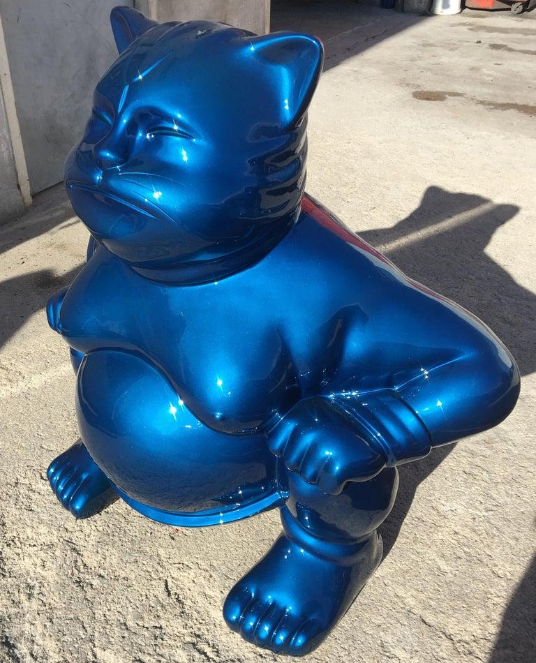 sumocat - Contemporary Sculpture by HIRO ANDO