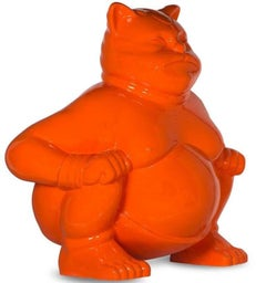"""SUMOCAT"" original sculpture"