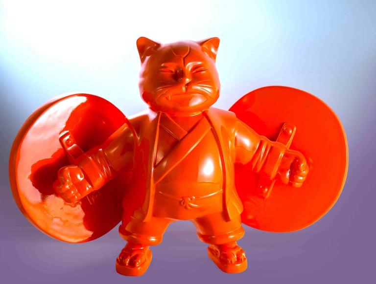 warriorcat - Sculpture by HIRO ANDO