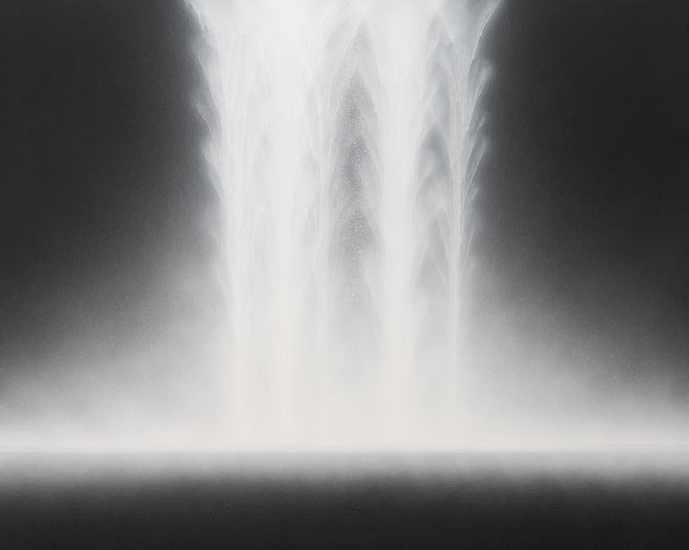 <i>Waterfall</i>, 2018, by Hiroshi Senju, 2018