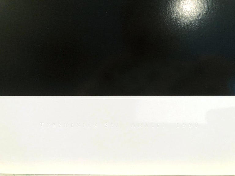 Hiroshi Sugimoto, Time Exposed 340, Lithograph, 1991; photographic seascape 1