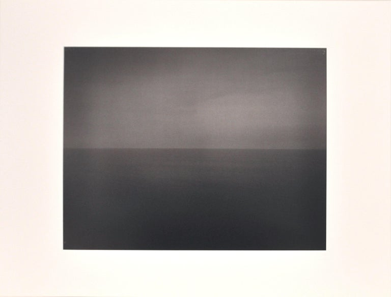 Hiroshi Sugimoto, Time Exposed 340, Lithograph, 1991; photographic seascape - Photograph by Hiroshi Sugimoto