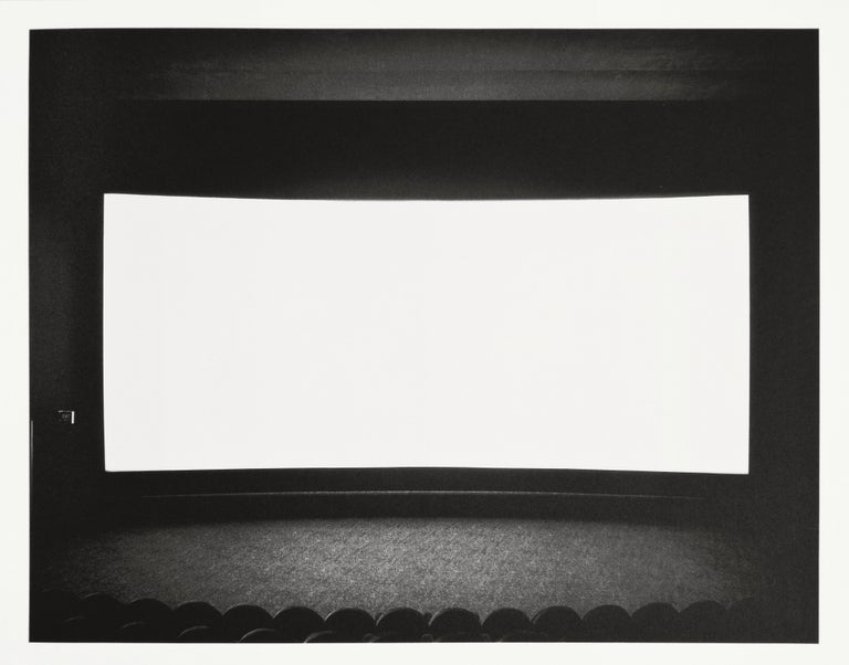 SUGIMOTO, Hiroshi.  Theaters.  By Hans Belting.  224 pp.  Text illustrated with 95 black and white illustrations and accompanied by an original Sugimoto photogravure 435 x 540 mm, signed by the artist.  Square 4to., 300 x 275 mm, bound in white