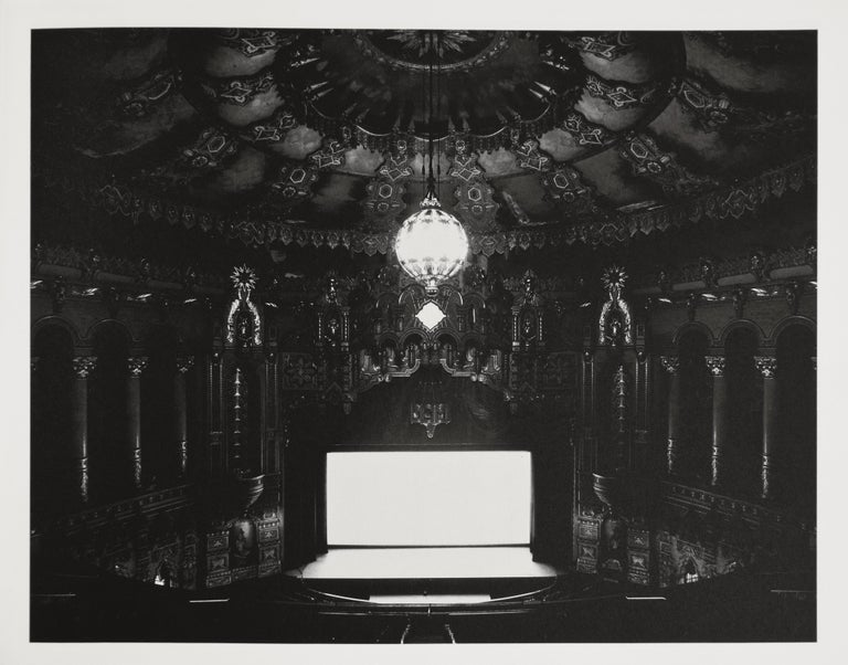 Hiroshi Sugimoto Black and White Photograph - Theaters by Hans Belting, 2001