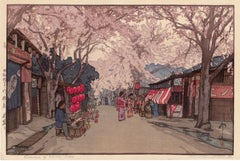 Avenue of Cherry Trees, from Eight Scenes of Cherry Blossoms