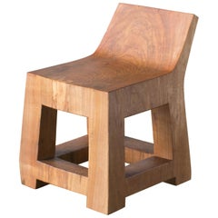 Hiroyuki Nishimura and Zogei Furniture Sculptural Child Chair Tribal Glamping