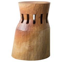 Hiroyuki Nishimura and Zogei Furniture Sculptural Stool14 Tribal Glamping