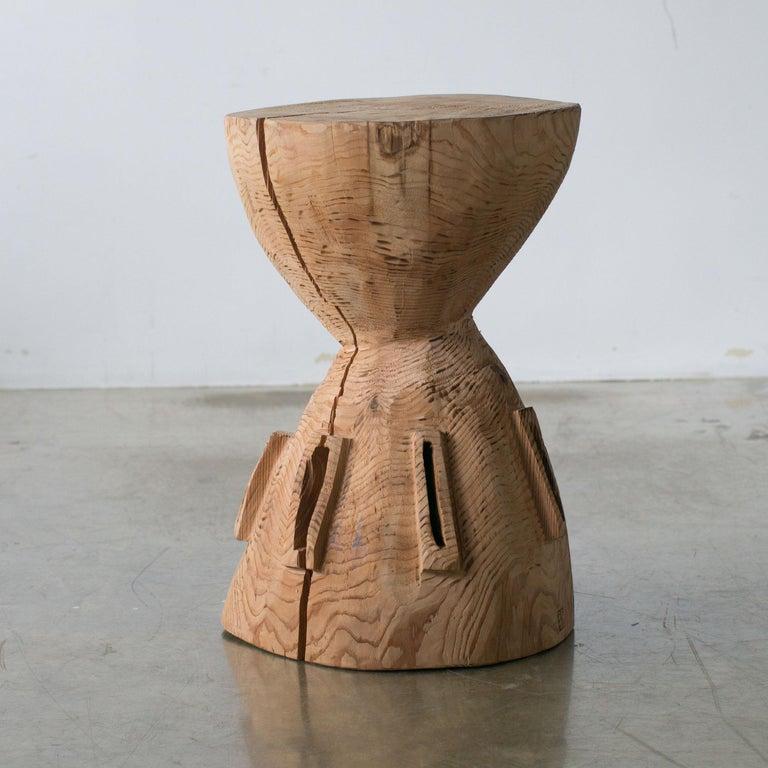 Tribal Hiroyuki Nishimura and Zogei Furniture Sculptural Stool4 Primitive African Art For Sale