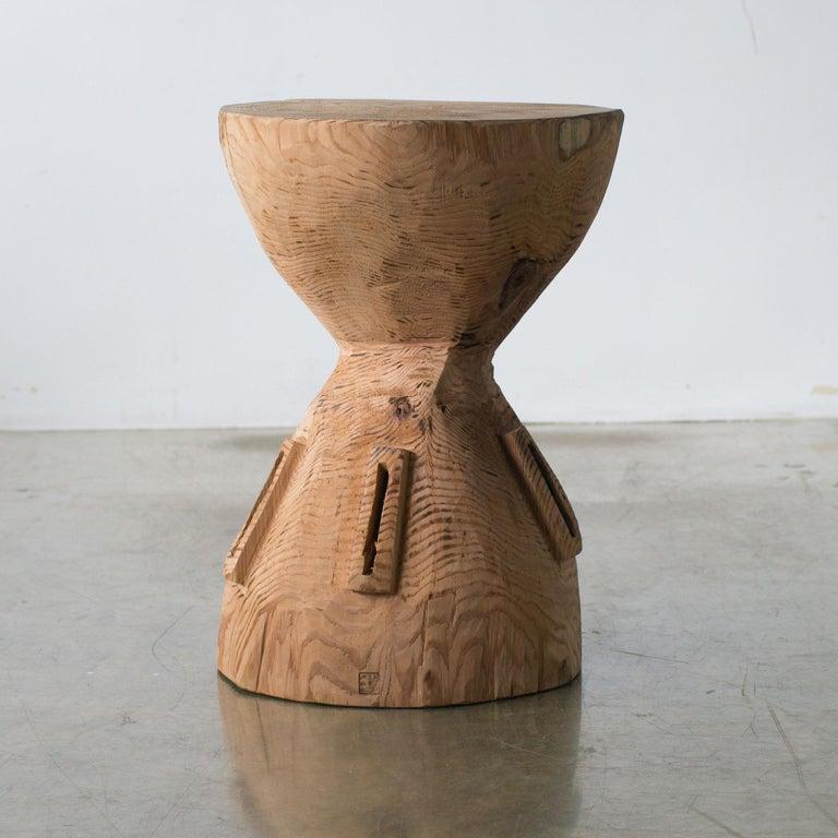 Japanese Hiroyuki Nishimura and Zogei Furniture Sculptural Stool4 Primitive African Art For Sale