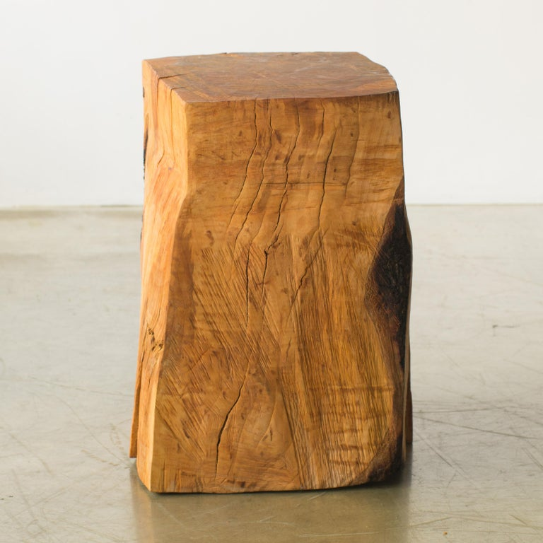 Contemporary Hiroyuki Nishimura and Zogei Furniture Sculptural Stool9 Tribal Glamping For Sale