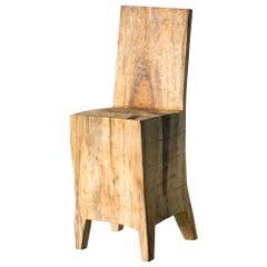Hiroyuki Nishimura Sculptural Chair Primitive Abstract glamping