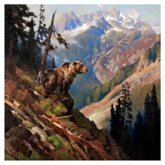 """His Domain"" Original Oil Painting by Greg Parker"
