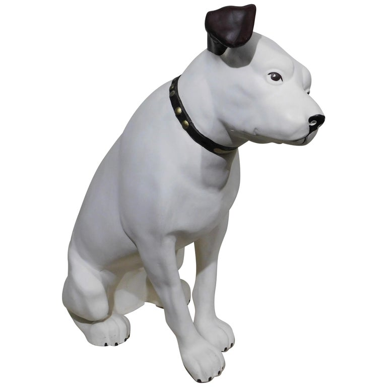 His Masters Voice Large Store Display 'Nipper' Dog Victor RCA Jack Russell