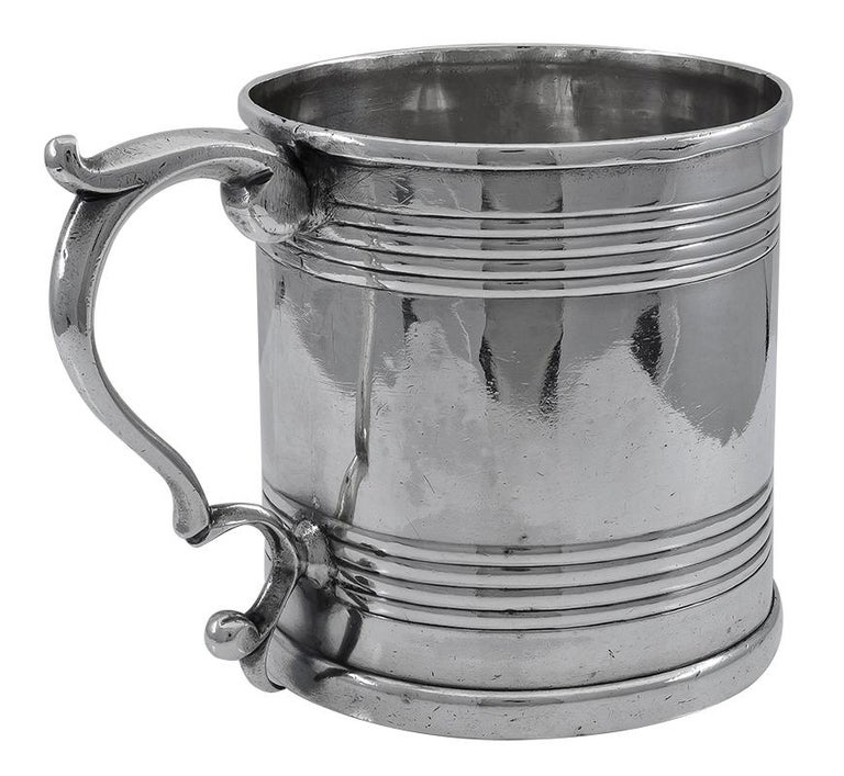 Historic Antique Kirk Family Sterling Cup In Good Condition For Sale In New York, NY