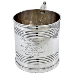 Historic Antique Kirk Family Sterling Cup