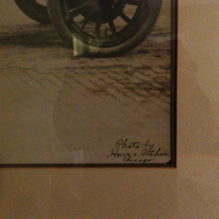 American Historic Early Race Car Photo For Sale
