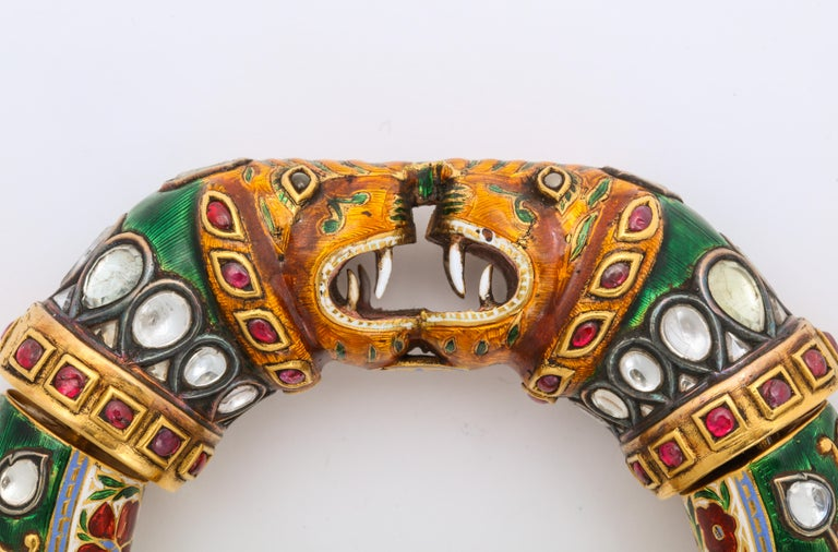 Historic Pair of Indian Bangles In Excellent Condition In New York, NY