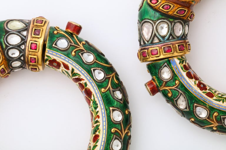 Women's or Men's Historic Pair of Indian Bangles