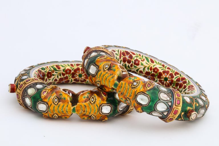 Historic Pair of Indian Bangles 1