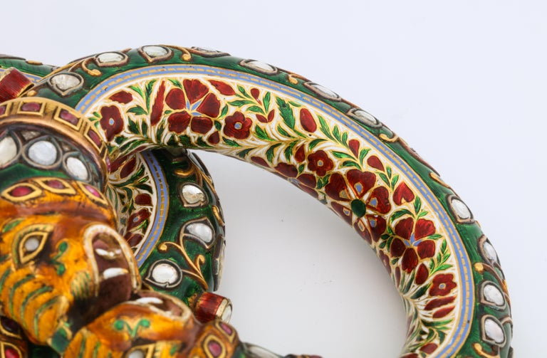 Historic Pair of Indian Bangles 2