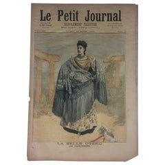 Historical 1894 Memorabilia LPJournal La Belle Otero/Defeat of English in Africa