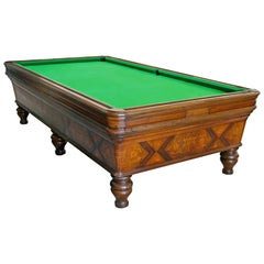 Historical Billiards Table Belonged to Gabriele D'Annunzio, Italy, 1820s