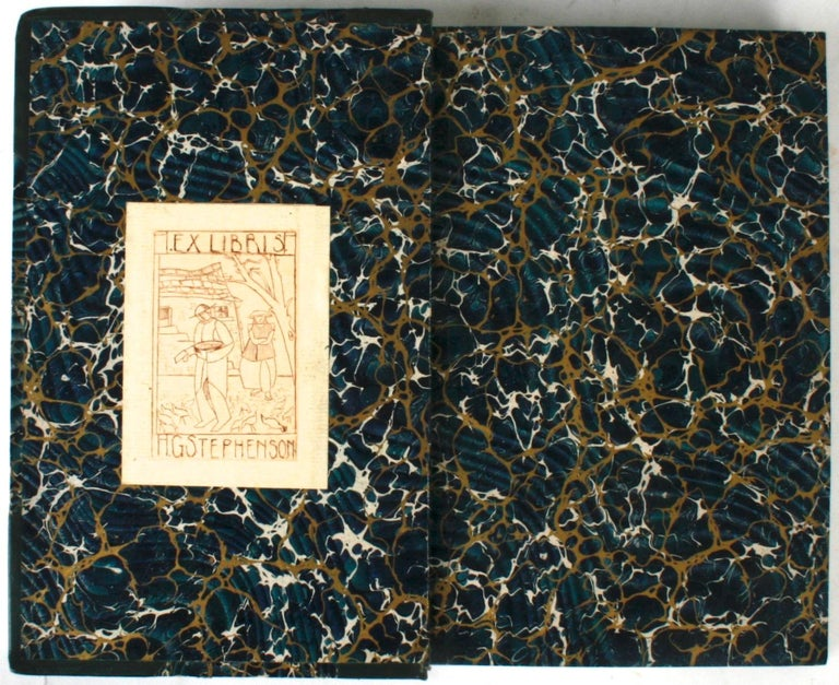 Historical Essays by Edward A. Freeman in Three Volumes. London: Macmillan and Co., Vol. I, 1886, forth edition; Vol. II, 1889, third edition; Vol III, 1892, second edition. Calf leather and marbleized paper bound hardcovers. 419, 388, 482 pp. Three