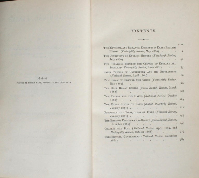 Historical Essays by Edward A. Freeman in Three Volumes For Sale 2