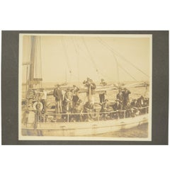 Historical Picture of the Fitzgerald Sailboat, 1930